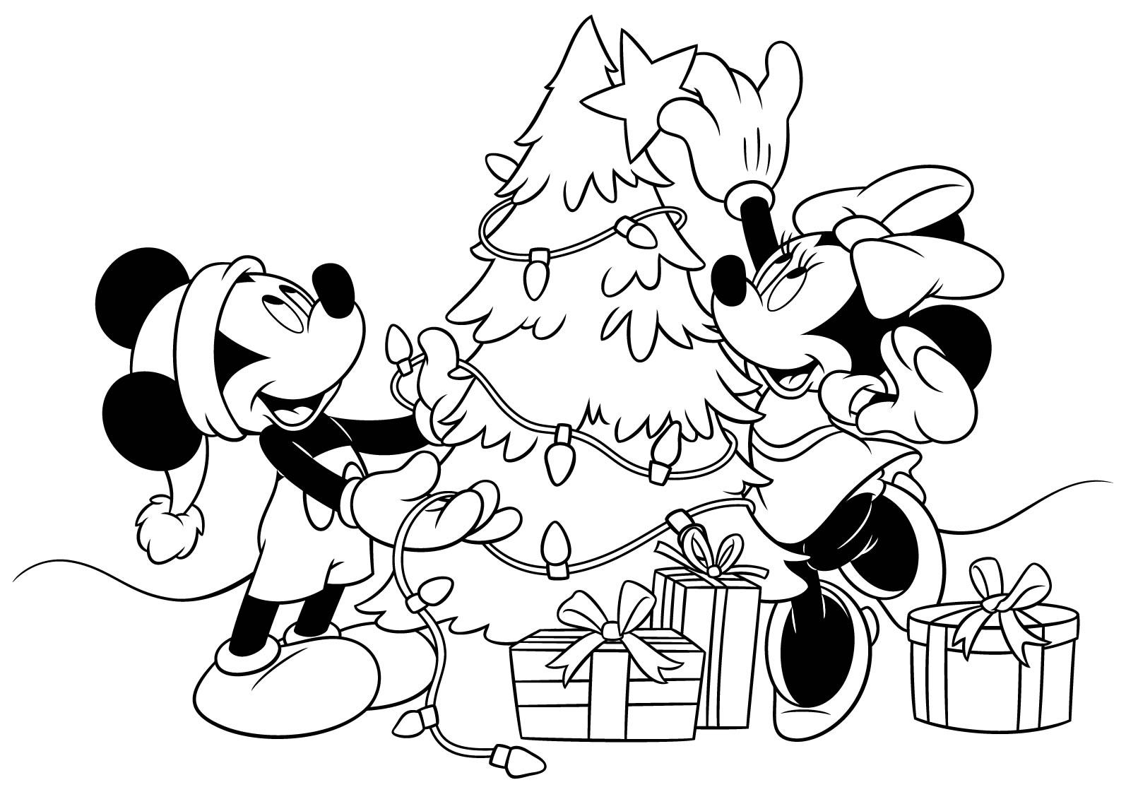 Immagini Del Natale Da Colorare.Disegni Di Natale Da Colorare Forumforyou It