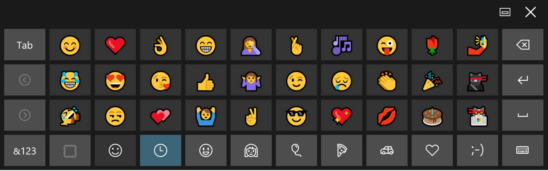 Faccine - Emoticons - Smiles