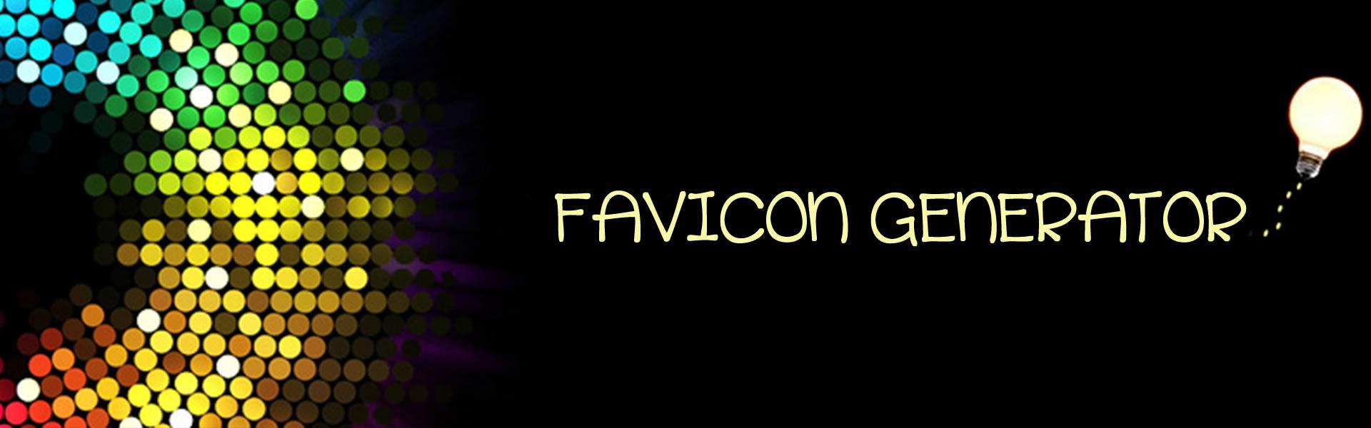 Generatore Favicon Free