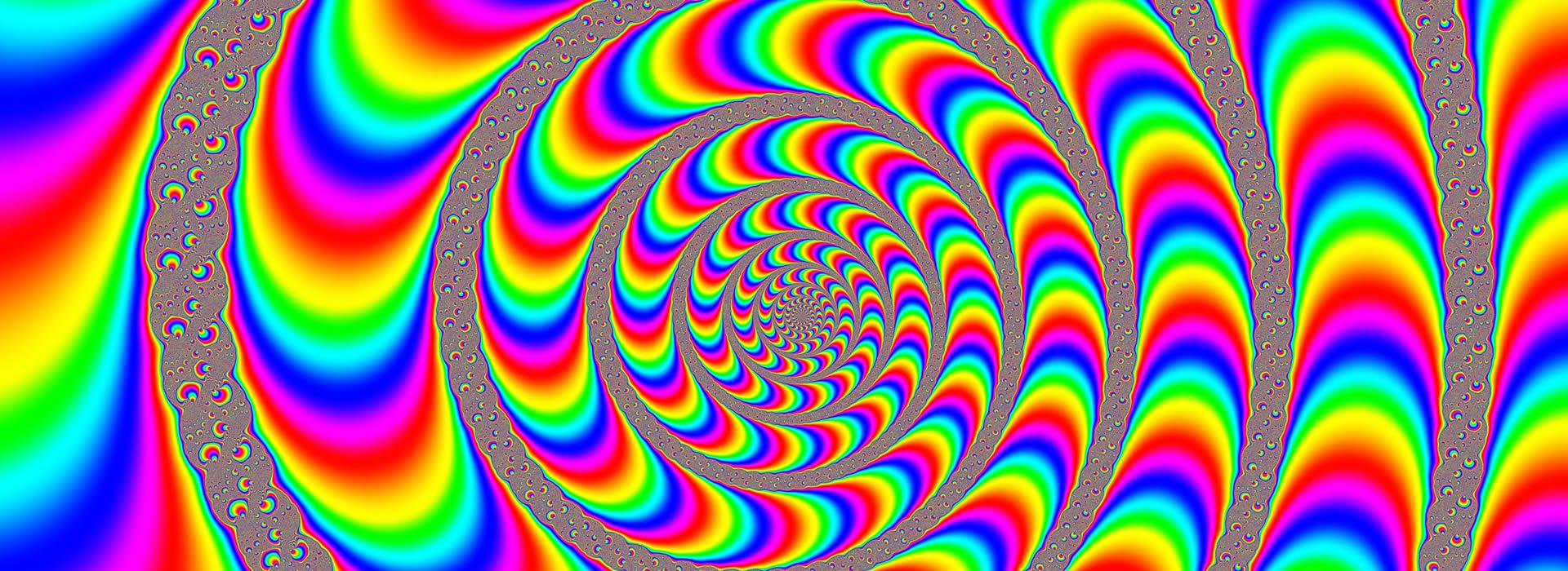 Grande raccolta di illusioni ottiche
