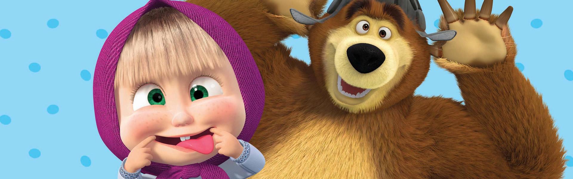 Cartoni animati Masha e Orso in italiano