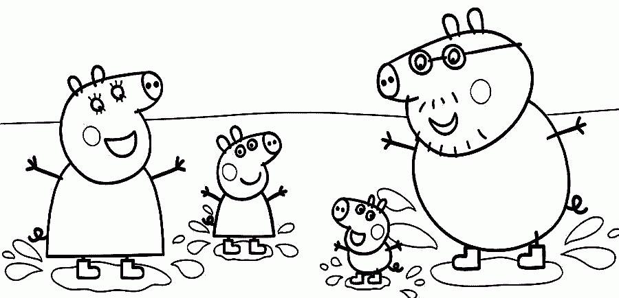 Disegni Da Colorare Peppa Pig Forumforyouit