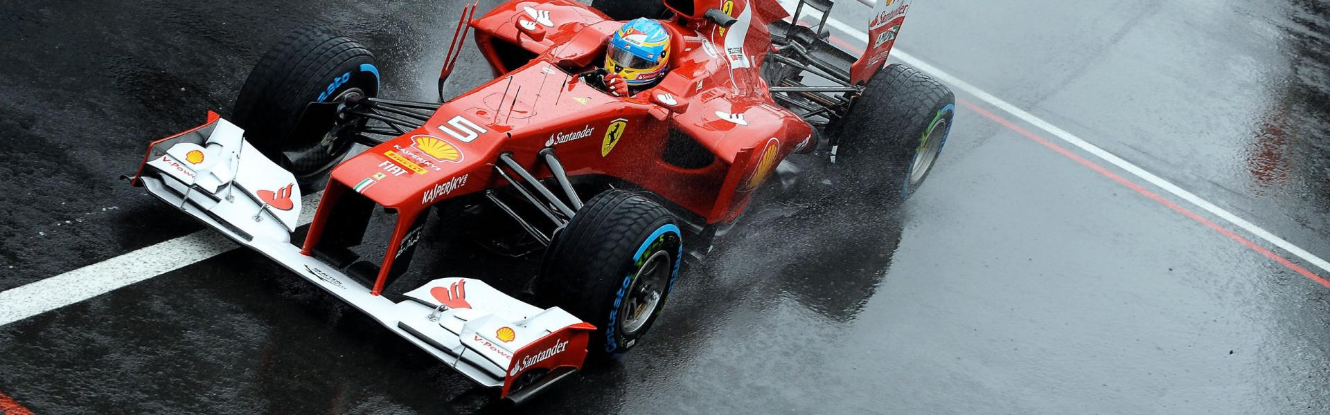 Wallpaper Ferrari